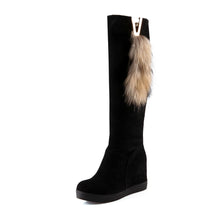 Load image into Gallery viewer, Fashion Women Knee High Boots for Autumn and Winter New Arrive Fur Snow Boots 1255