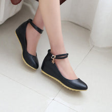 Load image into Gallery viewer, Ankle Straps Wedges Platform High Heels Fashion Women Shoes 4286