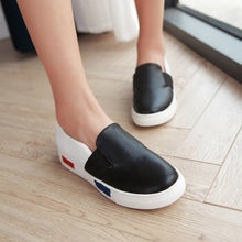 Load image into Gallery viewer, Casual Women Flats Loafers Platform Shoes