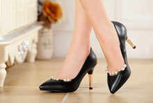 Load image into Gallery viewer, Pearl Party Pumps High Heels Fashion Women Shoes 5539