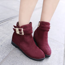 Load image into Gallery viewer, Buckle Ankle Boots Women Shoes Fall|Winter 2689
