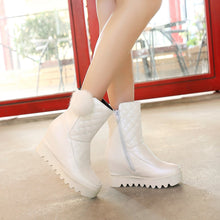 Load image into Gallery viewer, Ball Snow Boots Women Wedges Shoes Fall|Winter 2062