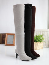 Load image into Gallery viewer, Slim Elastic High Heels Thigh High Boots Stiletto Heel 9441