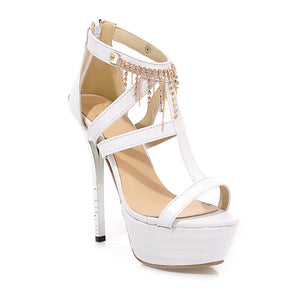 Rhinestone-High-Heels-Sandals-Women-Pumps-Platform-Shoes-for-Wedding 3816