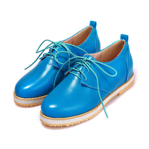 Candy Colors Lace Up High Heels Women Shoes 8692