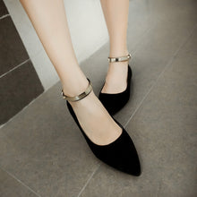 Load image into Gallery viewer, Women's Flats Ankle Straps Shoes 8931