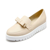 Women Flats Girl Bow Casual Loafers Shoes Ballet Shoes
