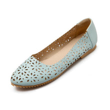 Load image into Gallery viewer, Round Toe Cutout Women Flats Shoes 1789