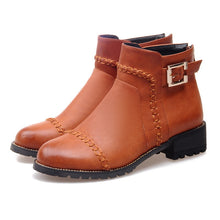 Load image into Gallery viewer, Cool Buckle Ankle Boots Women Shoes Fall|Winter 1866