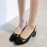 Summer Sandals Pumps Ankle Straps High-heeled Shoes Woman