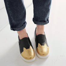 Load image into Gallery viewer, Cute Women Flats Girl Casual Loafers Shoes Ballet Shoes Plus Size