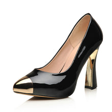 Load image into Gallery viewer, Pointed Toe Women Pumps Platform High Heels Dress Shoes Woman