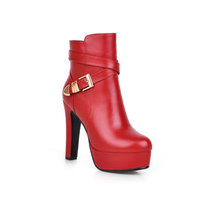 Fashion Ankle Boots High Heels Women Shoes Fall|Winter 5225