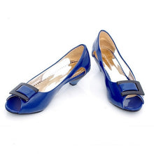 Load image into Gallery viewer, Peep Toes Sandals Square Buckle Women Pumps High Heels Shoes Woman