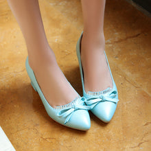 Load image into Gallery viewer, Bow Rhinestone Pumps Platform High Heels Fashion Women Shoes 7729