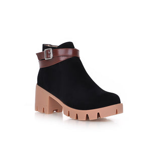 Buckle High Heels Boots Women Shoes Fall|Winter 1943
