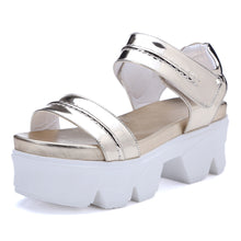 Load image into Gallery viewer, Bright Sandals Women Wedges Platform High-heeled Shoes Woman