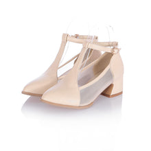 Load image into Gallery viewer, Fashion T Straps High Heels Sandals Women Pumps Shoes 8767