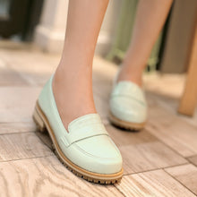 Load image into Gallery viewer, Round Toe Pumps Platform High Heels Fashion Women Shoes 6934