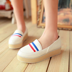 Women Wedges High Heels Platform Shoes 7310