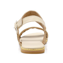 Load image into Gallery viewer, Women Sandals Buckle Cutout Flats Shoes