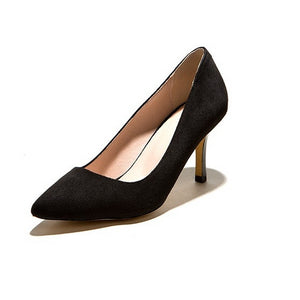 Pointed Toe Women Pumps High Heels Spike Dress Shoes Woman