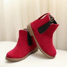 Load image into Gallery viewer, Artificial Suede Ankle Boots Autumn Shoes Woman