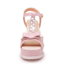 Load image into Gallery viewer, Fashion High Heels Wedges Sandals Women Pumps Platform Shoes with Rhinestone 2843