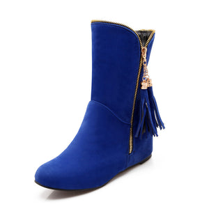 Tassel Ankle Boots Women Shoes Fall|Winter 4769