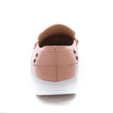 Studded Women Flat Shoes New 2016 Black, White, Pink