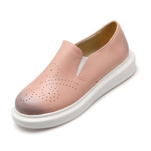Load image into Gallery viewer, Women Flats Girl Cutout Casual Loafers Platform Shoes