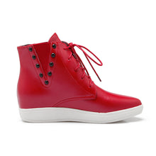Load image into Gallery viewer, Studded Ankle Boots Women Shoes New Arrival