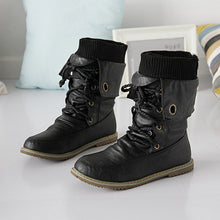 Load image into Gallery viewer, Soft Leather Lace Up Women Ankle Boots Shoes Woman  3352