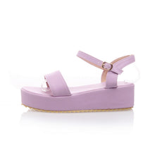 Load image into Gallery viewer, Fashion Ankle Straps Sandals Platform Shoes 5179