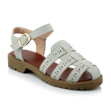 Load image into Gallery viewer, Summer Ankle Straps Sandals Flats Shoes Woman
