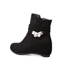 Load image into Gallery viewer, Metal Buckle Ankle Boots Women Shoes Fall|Winter 3247