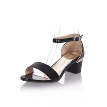 Load image into Gallery viewer, Fashion Ankle Straps Sandals Pumps Platform High Heels Women Dress Shoes 6609