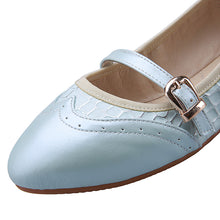 Load image into Gallery viewer, Casual Buckle Women Flats Ballet Shoes