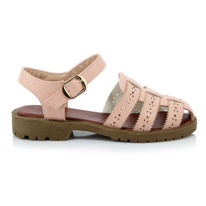 Summer Ankle Straps Sandals Flats Shoes Woman