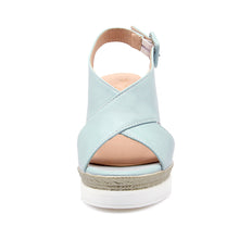 Load image into Gallery viewer, Women Sandals Buckle Wedges Platform High-heeled Shoes Summer