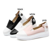 Load image into Gallery viewer, Mixed Colors Casual Women Loafers Platform Shoes