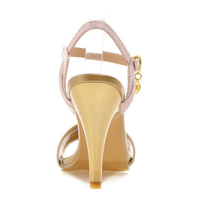 Sexy Spike Sandals Pumps High-heeled Shoes Woman Plus Size