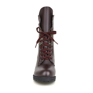 Lace Up Ankle Boots Women Shoes Fall|Winter 1346