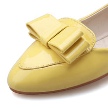 Load image into Gallery viewer, Casual Bowtie Women Flats Ballet Shoes