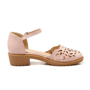 Summer Ankle Straps Sandals Casual Low-heeled Shoes Woman