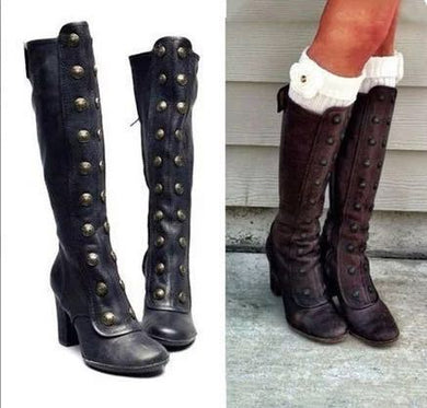High-heeled Women's Knight Boots
