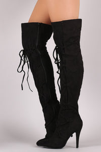 Cross-strap Women's Knight Boots