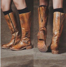 Load image into Gallery viewer, Zipper Women's Knight Boots