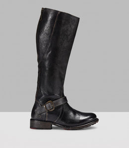 Belted Women's Knight Boots
