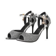 Load image into Gallery viewer, Women's Fish Mouth High Heel Buckle Belt Stiletto Heel Sandals